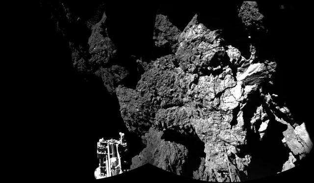 """""""Fajli"""" uspešno sleteo na kometu"""