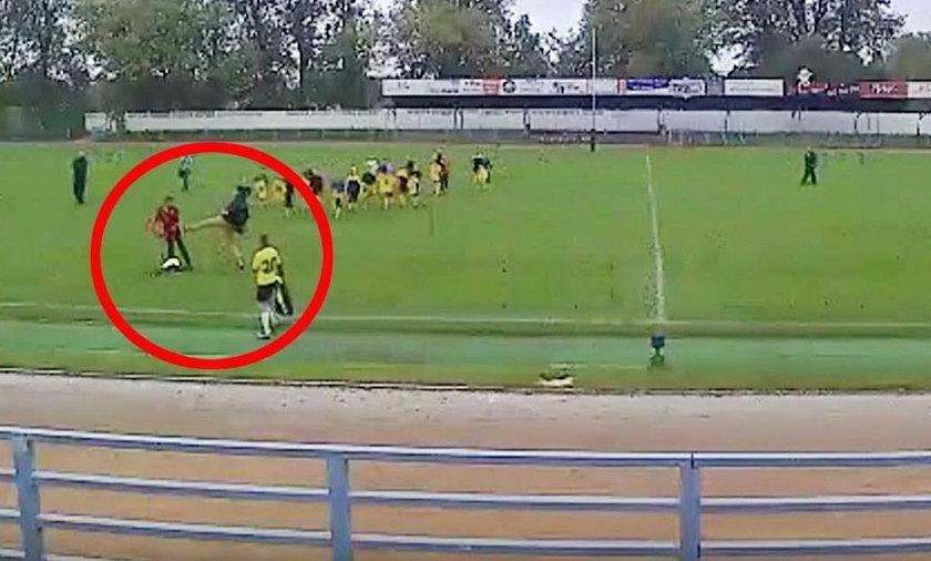 Trener pobity po meczu 11-latków w Kwidzynie