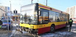 Groźny wypadek autobusu