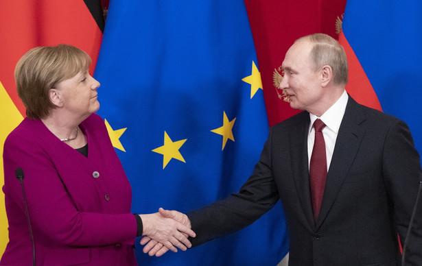Wizyta Angeli Merkel w Moskwie pokazała poszerzający się zakres tematów, w których Niemcy i Rosjanie mają podobne bądź dające się pogodzić poglądy. Kanclerz RFN przyjechała do Rosji na zaproszenie prezydenta Władimira Putina po raz pierwszy od 2018 r. Rozmowy trwały trzy i pół godziny.