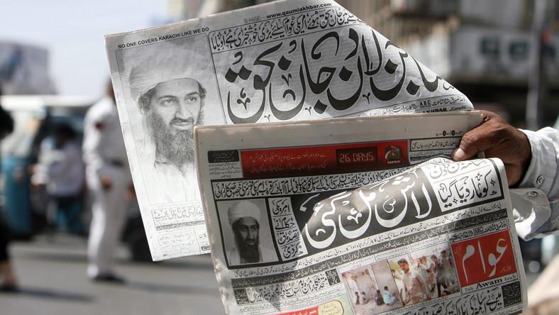 Pakistańskie gazety donoszą o śmierci Osamy bin Ladena