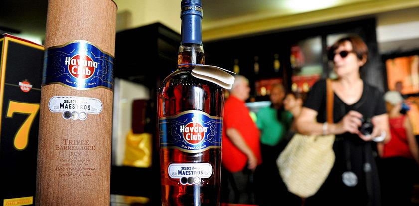 Kuba chce spłacić swój dług alkoholem