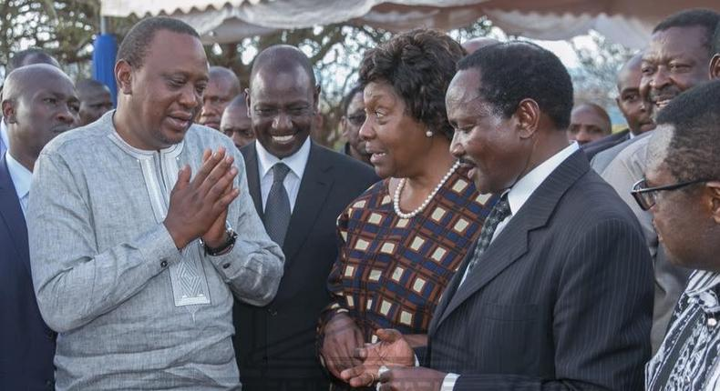 The day angry Uhuru, Ruto banned Kalonzo from attending their meetings - David Musila writes in Seasons of Hope