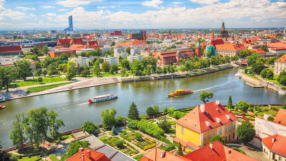 Wrocław latem