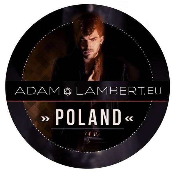 Adam Lambert Poland - logo