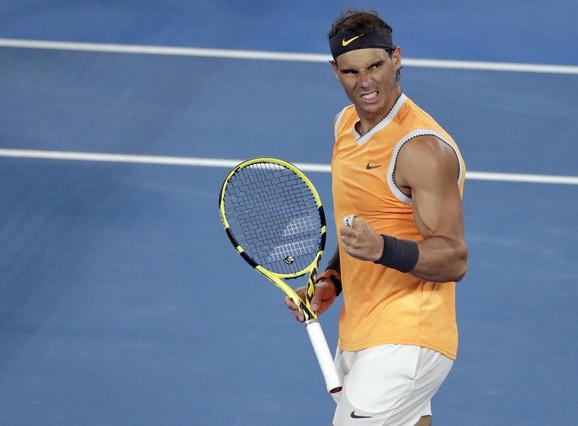 Rafael Nadal slavi plasman u polufinale Australijan opena