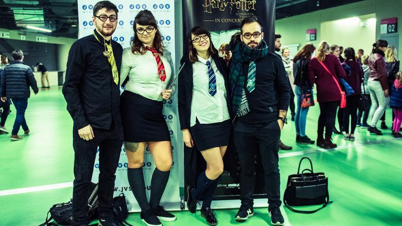 """""""Harry Potter in Concert"""" w Tauron Arena Kraków - zdjęcia publiczności"""