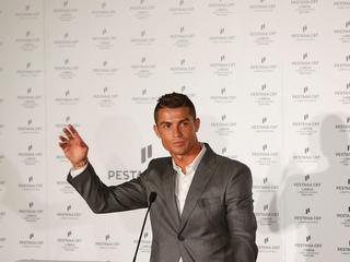 Soccer player Cristiano Ronaldo attends the inauguration of Pestana CR7 Lisboa Hotel, in Lisbon