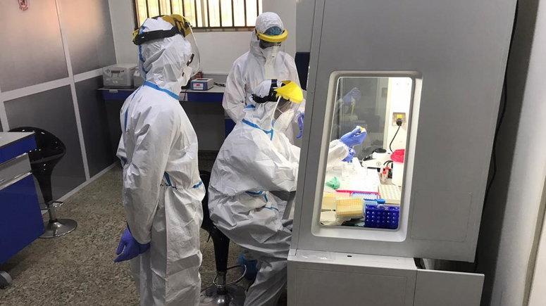 Nigeria confirms 544 new coronavirus cases. [Twitter/@NCDCgov]