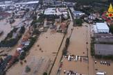 Toskana, poplave, EPA - VIGILI DEL FUOCO