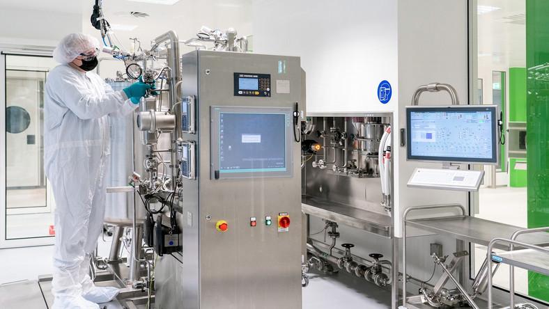Przygotowania do produkcji szczepionki CureVac w Niemczech