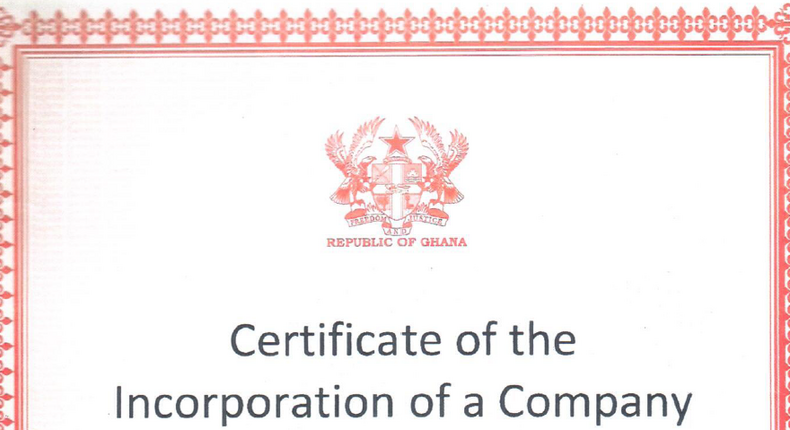 Ghana's Registrar General abolishes Certificate to commence business, here's the new requirement