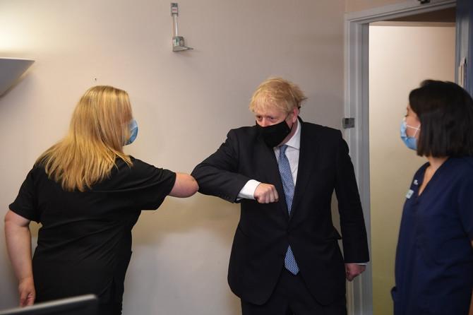 Premijer Velike Britanije Boris Džonson