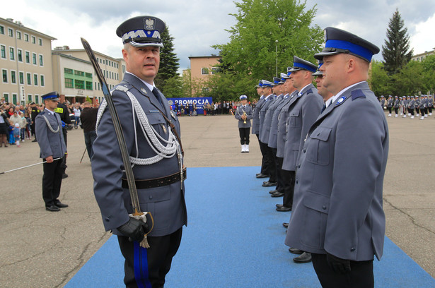 Marek Działoszyński, komendant główny policji
