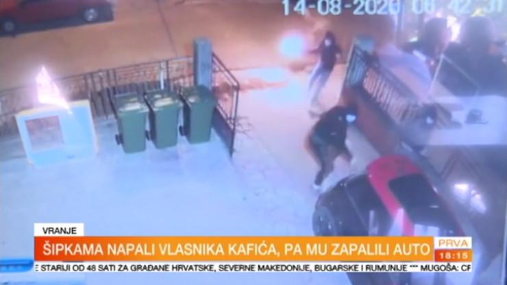 Vranje, napadnut Miša Stojmenović