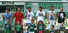 Dzieci piłkarzy Ślaska pokazały im, jak wygrać z Legią
