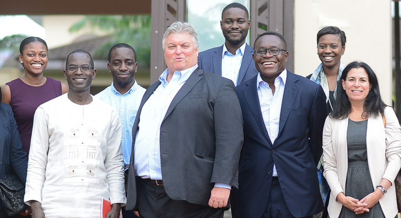 Bank of America Executives at Ghana's Ashesi University in 2017
