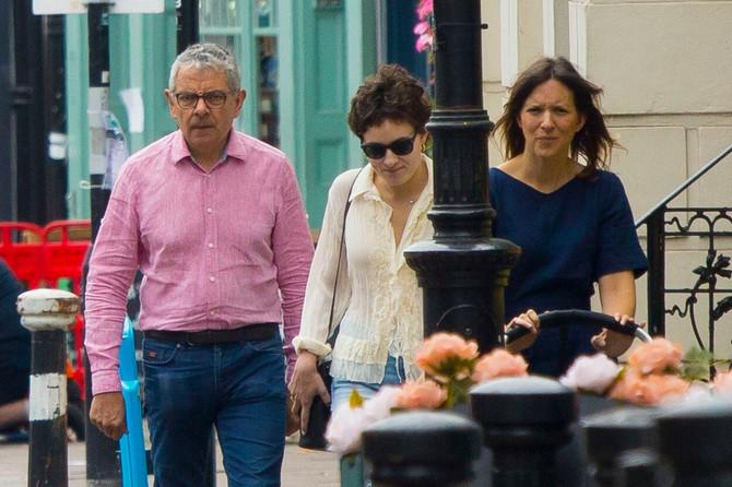 Poznati par u šetnji Londonom