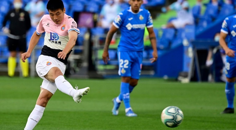 China star Wu Lei 'turns down Premier League' to stay at Espanyol