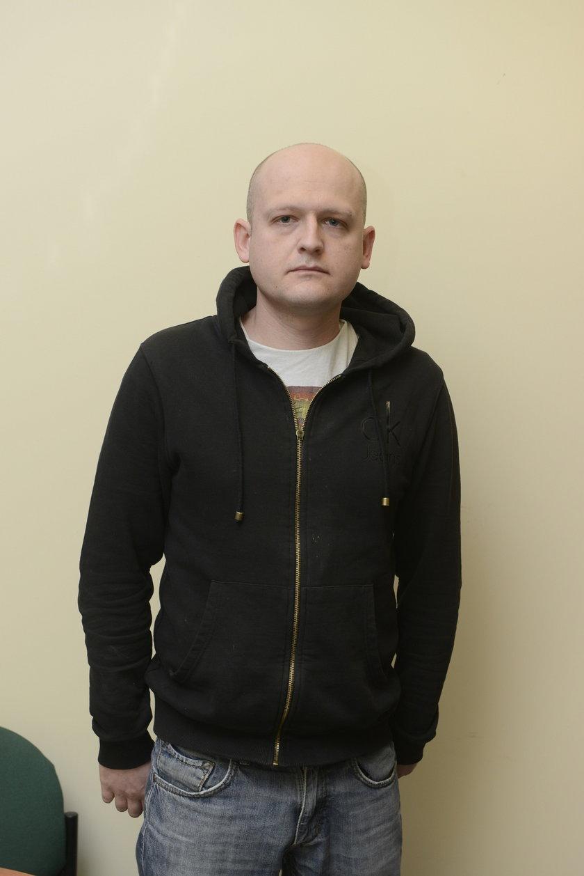 Piotr Janoszka (29 l.), psycholog dziecięcy ze Stowarzyszenia Kolorowe Słońce