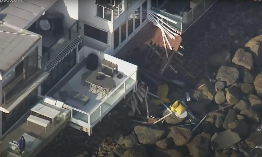 Balkon zerwał się podczas imprezy urodzinowej. 9 osób zostało rannych, w tym 4 poważnie.