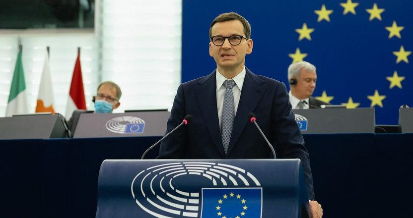 Gorąca kłótnia w Strasburgu po wystąpieniu Morawieckiego. Jeden z polityków wprost nazwał jego wystąpienie: to jest...