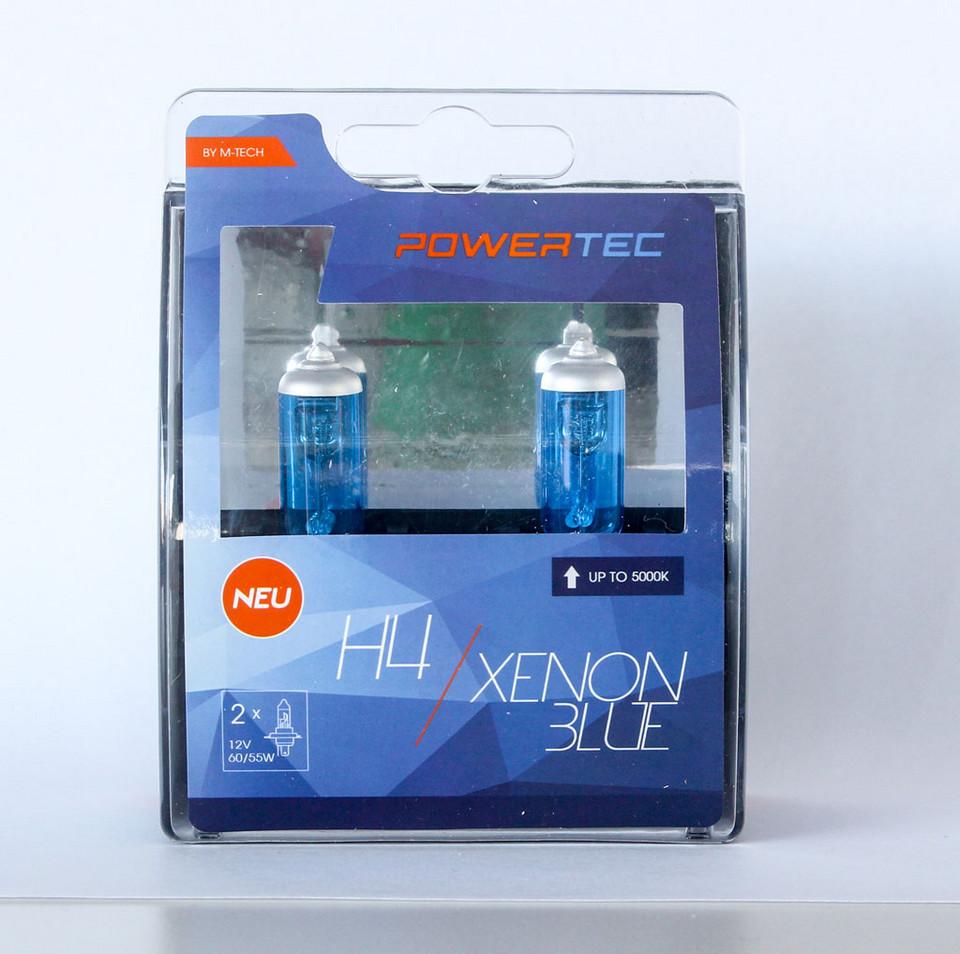 PowerTec H4 Xenon Blue цена 60 зл / комплект