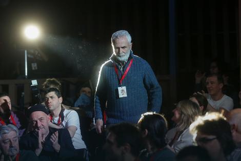Aplauz za vrhunskog scenaristu: Gordan Mihić sa publikom na Kustendorfu