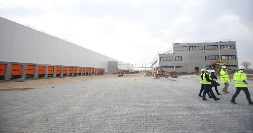 Nowy magazyn Amazona w Sosnowcu budowany przez Panattoni. To  największa umowa najmu na rynku magazynowym w I kwartale 2017 r.