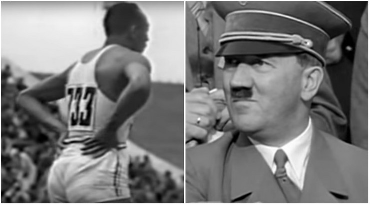 Džesi Ovens i Adolf Hitler