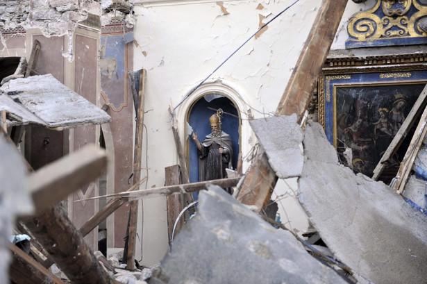 Włochy po trzęsieniu ziemi