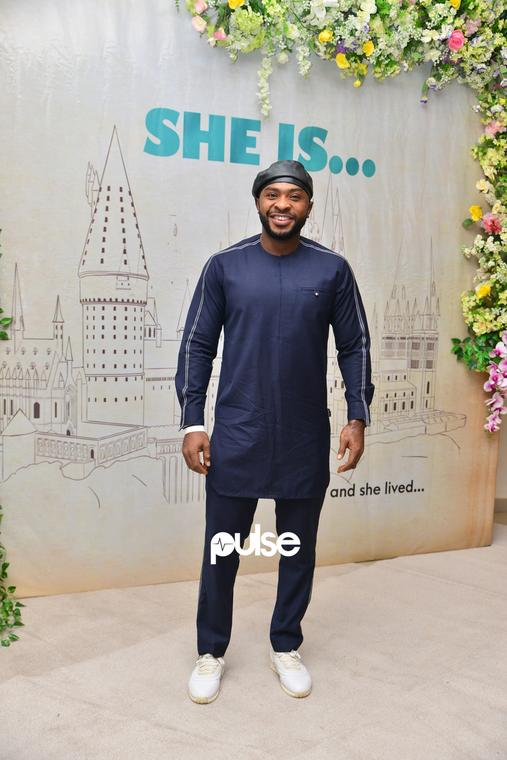 Eyinna Nwigwe at 'She Is' movie premiere [PULSE]