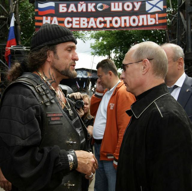 Aleksandar Zaldastanov i Vladimir Putin