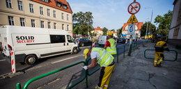 Kolejne zmiany na skrzyżowaniu Niepodległości/Solna. Trwa remont