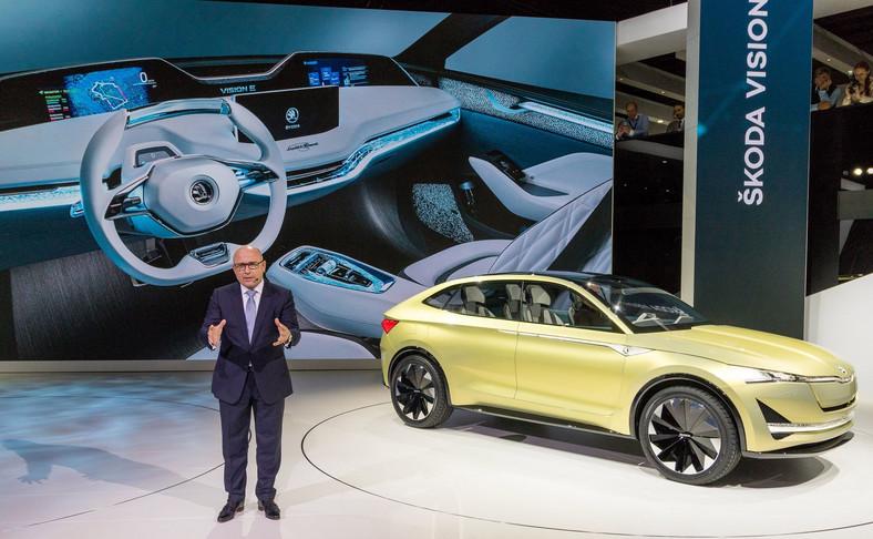Bernhard Maier, szef Skody i całkowicie elektryczny model Vision E