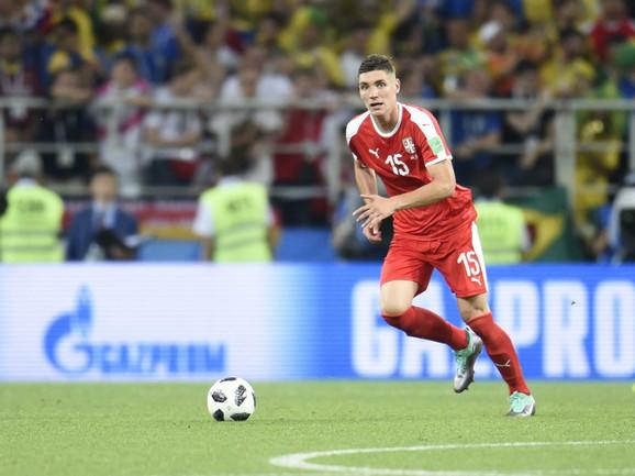 Nikola Milenković u dresu reprezentacije