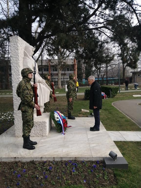 Venac je položio i ambasador Ruske federacije Aleksandar Bocan - Harčenko