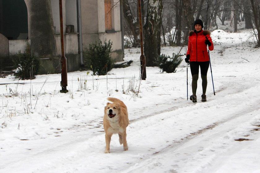 Anna Popek i jej pies
