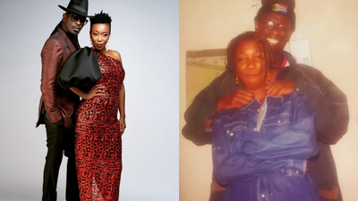 Wahu excites Netizens with message to Nameless as they mark 23rd anniversary since they started dating