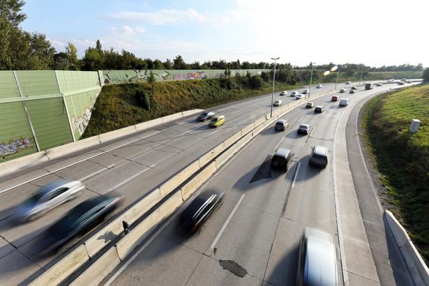 Autostrada A1. GDDKiA ustawiła tu oznaczenia wzorowane m.in. na stosowanych w USA