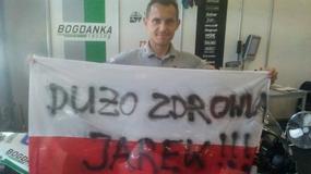 Polski zespół pojechał dla Jarosława Wałęsy