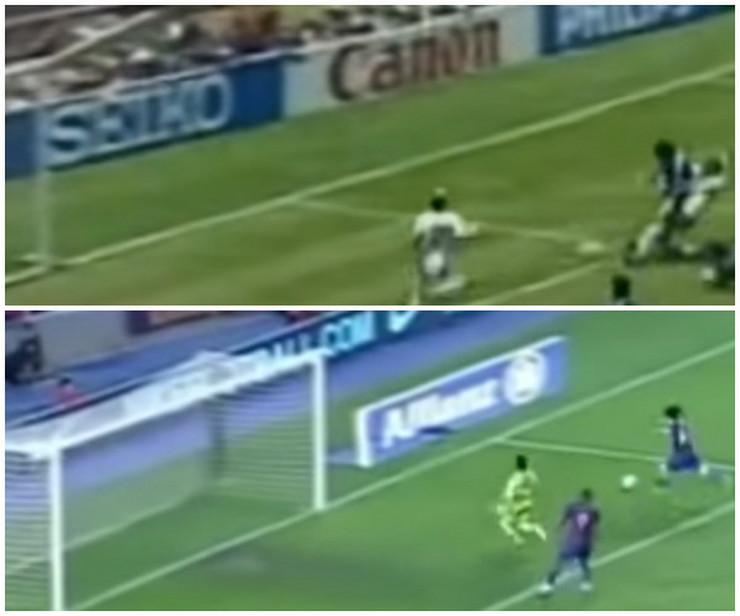 Mesi i Maradona - golovi veka