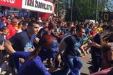 Početak trke Beogradski maraton 2016