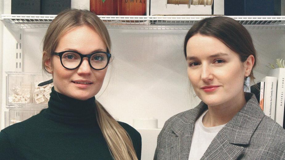 Magdalena Brzozowska i Malwina Wysińska (założycielki marki UMIAR)