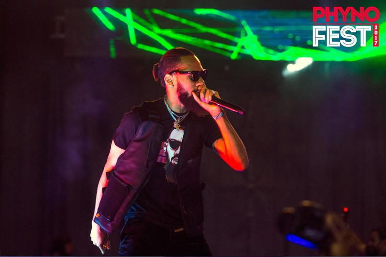 Phyno performing at 2017 Phynofest [Youtube/Phyno]