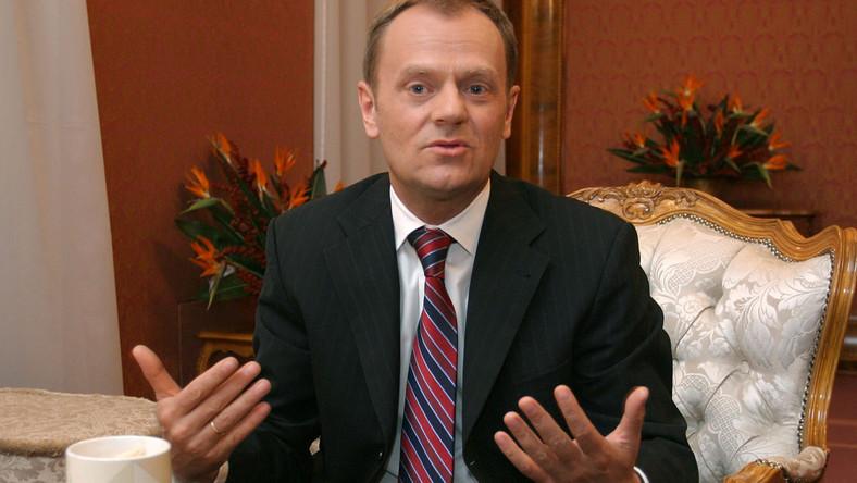 """Tusk w wywiadzie dla """"Faktu"""": Chcę rządzić do 2015 roku"""