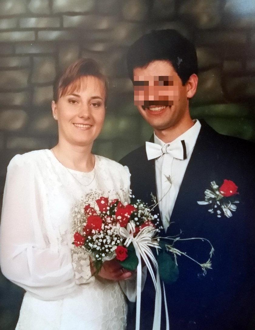 Renata Antczak z mężem