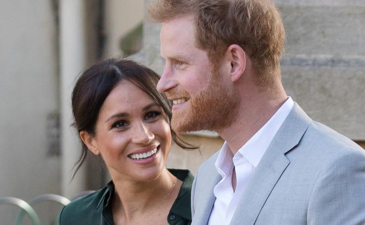 Princ Hari i Megan Markl EPA VICKIE FLORES