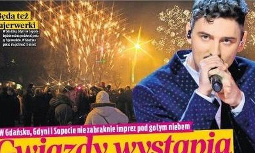 Szykuje się gorąca sylwestrowa noc w Gdyni. Gwiazdą wieczoru będzie Dawid Podsiadło