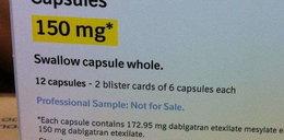Uwaga! Ten lek zabija!